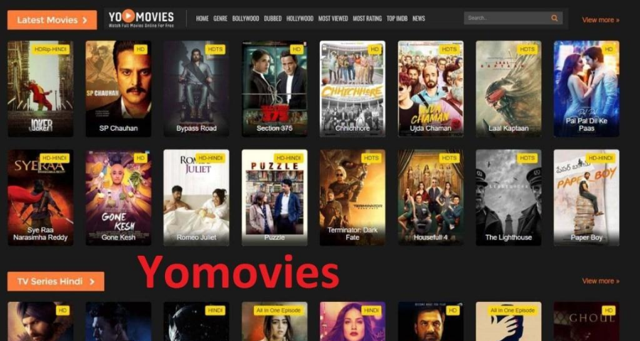 YoMovies - Free movie streaming sites no sign up